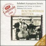 Schubert: Arpeggione Sonata; Schumann: Fünf Stücke im Volkston; Debussy: Cello Sonata