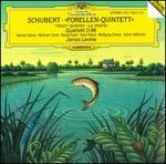 Schubert: Forellen Quintett; Quartett D. 96 - Alois Posch (double bass); Georg Faust (cello); Gerhart Hetzel (violin); Göran Söllscher (guitar); James Levine (piano); Wolfgang Schulz (flute); Wolfram Christ (viola)