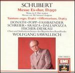 Schubert: Mass in E flat major; Tantum Ergo; Offertorium
