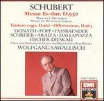 Schubert: Mass in E flat major; Tantum Ergo; Offertorium
