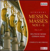 Schubert: Masses Nos. 1-6; German Mass - Alexander Panteleev (bass); Antoaneta Besparova (soprano); Astrid Pilzecker (mezzo-soprano); Bozhidar Mitroushev (tenor);...