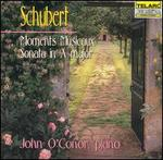Schubert: Moments Musicaux; Sonata in A major