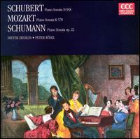 Schubert: Piano Sonata D. 958; Mozart: Piano Sonata K. 570; Schumann: Piano Sonata Op. 22 - Dieter Zechlin (piano); Peter Rösel (piano)