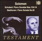 Schubert: Piano Sonatas Nos. 13 & 14; Beethoven: Piano Sonata No. 3
