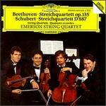 Schubert: Quartet in G, D.887/Beethoven: Quartet in F, Op.135