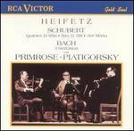 Schubert: Quintet, D. 956; Trio, D. 581; Ave Maria; Bach: 3 Sinfonias