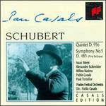 Schubert: Quintet; Symphony No. 5