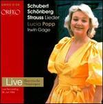 Schubert, Schoenberg, Strauss: Lieder