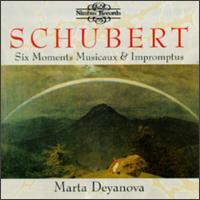 Schubert: Six Moments Musicaux; Impromptus - Marta Deyanova (piano)