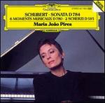 Schubert: Sonata; 6 Moments Musicaux; 2 Scherzi