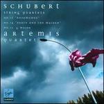 "Schubert: String Quartets No. 13 ""Rosamunde"", No. 14 ""Death and the Maiden"", No. 15 G major"