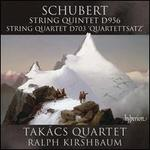 """Schubert: String Quintet D. 956; String Quartet D. 703 """"Quartettsatz"""""""