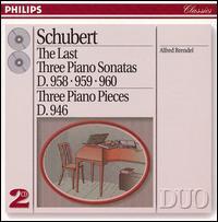 Schubert: The Last Three Piano Sonatas -
