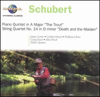 Schubert: Trout Quintet; Death and the Maiden - Alois Posch (double bass); Georg Faust (cello); Gerhart Hetzel (violin); James Levine (piano); Melos Quartett Stuttgart;...