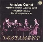 Schubert: Trout Quintet; Mozart: String Quartet, K. 387