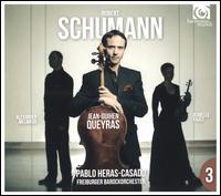 Schumann, 3 - Alexander Melnikov (fortepiano); Isabelle Faust (violin); Jean-Guihen Queyras (cello); Freiburger Barockorchester;...