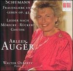 Schumann: Frauenliebe und -leben, Op. 42; Lieder nach M�ricke, R�ckert, Goethe