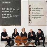Schumann: Piano Quartet in E flat major, Op. 47; Brahms: Piano Quintet in F minor, Op. 34 - Alexander Chaushian (cello); Boris Brovtsyn (violin); Diemut Poppen (viola); Hrachya Avanesyan (violin); Yevgeny Sudbin (piano)