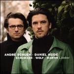 Schumann, Wolf, Martin: Lieder