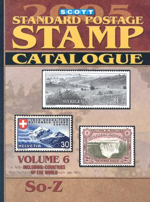 Scott Standard Postage Catalogue: Vol. 6: Countries Solomon Islands-Z - Kloetzel, James E