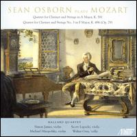 Sean Osborn Plays Mozart - Michael Miropolsky (violin); Scott Ligocki (viola); Sean Osborn (clarinet); Simon James (violin); Walter Gray (cello)