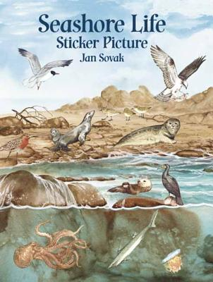 Seashore Life Sticker Picture: With 33 Reusable Peel-And-Apply Stickers - Sovak, Jan