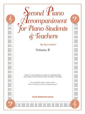 Second Piano Accompaniments, Vol B - Landers, Ray (Composer)