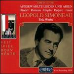 Selected Lieder and Arias