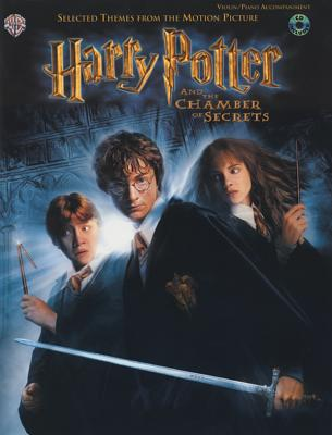 Selected Themes from the Motion Picture Harry Potter and the Chamber of Secrets for Strings: Violin (with Piano Acc.), Book & CD - Williams, John (Composer)