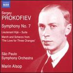 "Sergey Prokofiev: Symphony No. 7; Lieutenant Kijé - Suite; March and Scherzo from ""The Love for Three Oranges"""