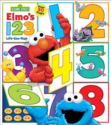 Sesame Street: Elmo's 1 2 3 Lift-The-Flap: Lift-The-Flap - Sesame Street