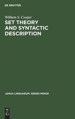 Set Theory and Syntactic Description - Cooper, William S