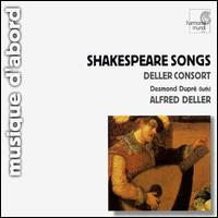 Shakespeare Songs - Deller Consort; Desmond Dupre (lute); Alfred Deller (conductor)