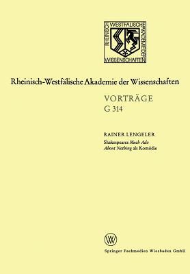 Shakespeares Much ADO about Nothing ALS Komodie - Lengeler, Rainer