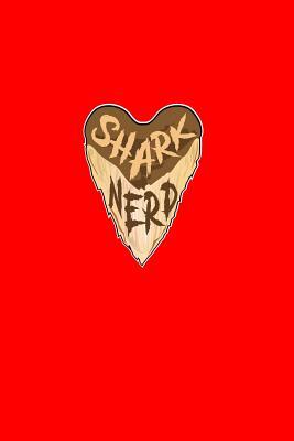 Shark Nerd: Dot Grid Journal - Shark Nerd Black Cool Funny Animal Shark Lover Gift - Red Dotted Diary, Planner, Gratitude, Writing, Travel, Goal, Bullet Notebook - 6x9 120 pages - Shark Journals, Gcjournals