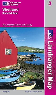 Shetland: North Mainland. [Made, Printed and Published by Ordnance Survey] - Great Britain Ordnance Survey