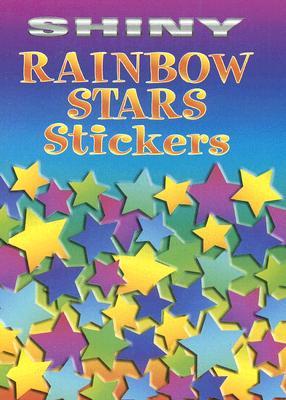 Shiny Rainbow Stars Stickers - Dover Publications Inc