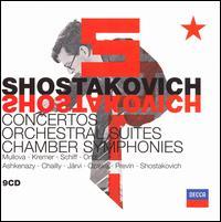 Shostakovich: Concertos; Orchestral Suites; Chamber Symphonies - Gidon Kremer (violin); Heinrich Schiff (cello); Mikhail Kotliarov (tenor); Nikita Storojev (bass); Peter Masseurs (trumpet);...