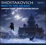 Shostakovich: Music for Viola and Piano