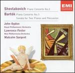 Shostakovich: Piano Concerto No. 2; Bartók: Piano Concerto No. 3; Sonata for Two Pianos and Percussion