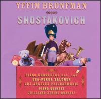 Shostakovich: Piano Concertos Nos. 1 & 2 - Joel Krosnick (cello); Joel Smirnoff (violin); Juilliard String Quartet; Ronald Copes (violin); Samuel Rhodes (viola);...