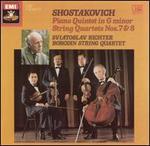 Shostakovich: Piano Quintet in G minor; String Quartets 7 & 8
