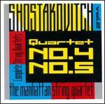 Shostakovich: String Quartets Nos. 4, 5