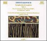 Shostakovich: Symphonies (Complete), Vol. 2 (Box Set)