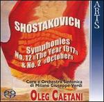 "Shostakovich: Symphonies No. 12 ""The Year 1917"" & No. 2 ""October"""