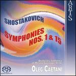 Shostakovich: Symphonies Nos. 1 & 15