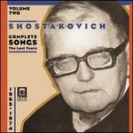 Shostakovich: Vocal Cycles of the Last Years, 1965-74