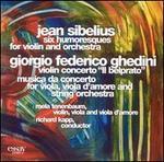 Sibelius: Humoresques; Ghedini: Violin Concerto; Musica da Concerto