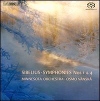 Sibelius: Symphonies Nos. 1 & 4 - Anthony Ross (cello); Burt Hara (clarinet); Minnesota Orchestra; Osmo Vänskä (conductor)
