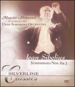 Sibelius: Symphonies Nos. 2 & 3 [DVD Audio]